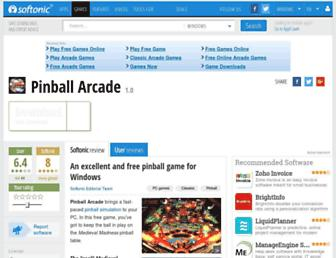 pinball-arcade.en.softonic.com screenshot