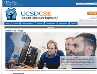 cseweb.ucsd.edu screenshot