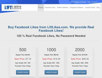 liftlikes.com screenshot