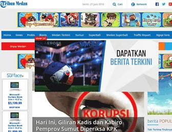medan.tribunnews.com screenshot