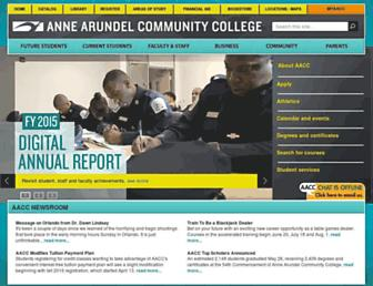 Thumbshot of Aacc.edu