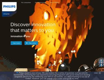 philips.ie screenshot