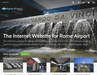 Thumbshot of Rome-airport.net