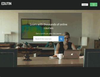 edutin.com screenshot