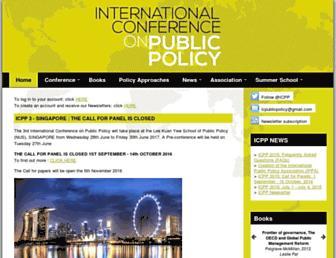 icpublicpolicy.org screenshot