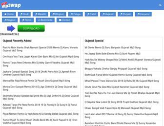 gujarati.vipmp3wap.com screenshot