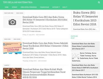 tipsbelajarmatematika.com screenshot
