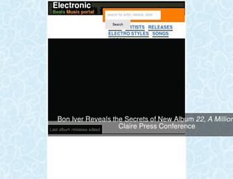 electrobeats.org screenshot