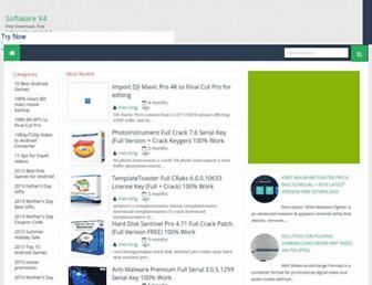 software-x4.blogspot.com screenshot
