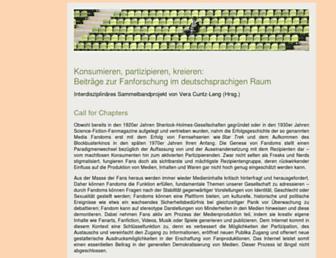 Main page screenshot of medienkreativitaet.de