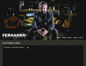 fernandoviciconte.com screenshot