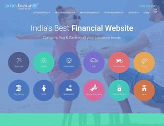 policybazaar.com screenshot