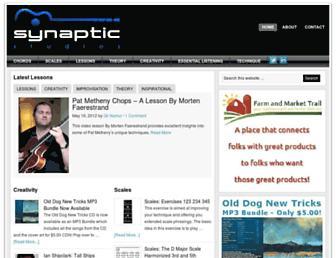 synapticstudios.com screenshot