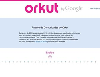 orkut.google.com screenshot