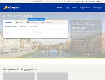 edreams.ch screenshot