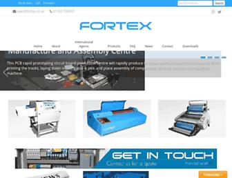 fortex.co.uk screenshot