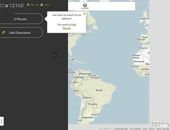 mapquest.com screenshot