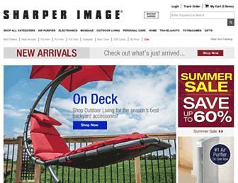 sharperimage.com screenshot
