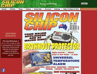 siliconchip.com.au screenshot