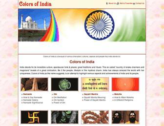 Thumbshot of Thecolorsofindia.com