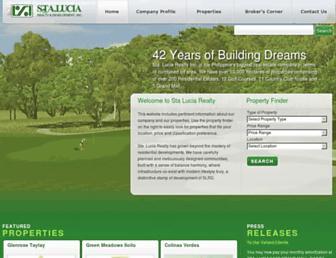 staluciarealty.com screenshot