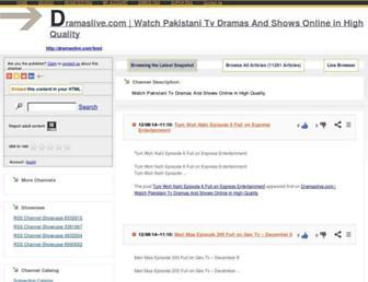dramaslive1.rssing.com screenshot