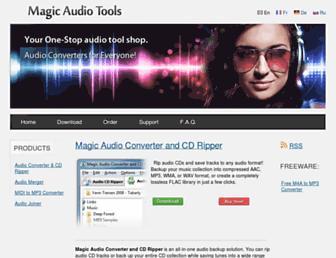 magicaudiotools.com screenshot