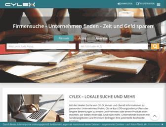 web2.cylex.de screenshot
