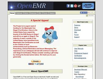 Thumbshot of Open-emr.org