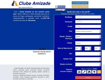 clubeamizade.com screenshot