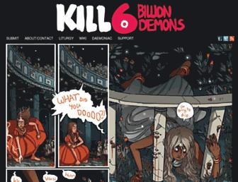 Thumbshot of Killsixbilliondemons.com