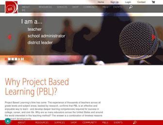 bie.org screenshot