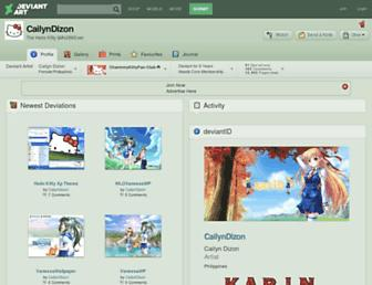 cailyndizon.deviantart.com screenshot