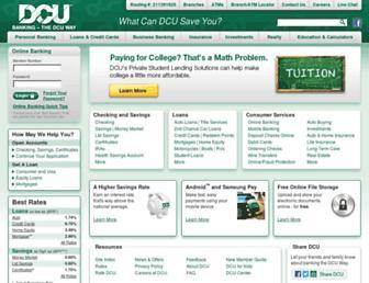 dcu.org screenshot