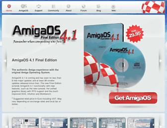 amigaos.net screenshot