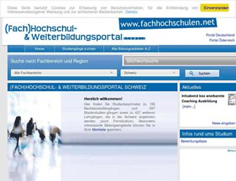 fachhochschulen.net screenshot