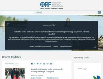 orfonline.org screenshot