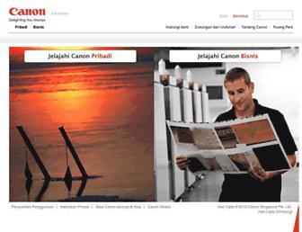 Thumbshot of Canon.co.id