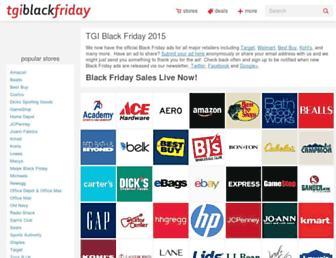 Thumbshot of Tgiblackfriday.com