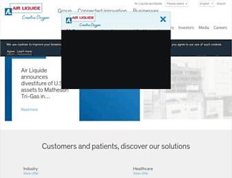 Thumbshot of Airliquide.com