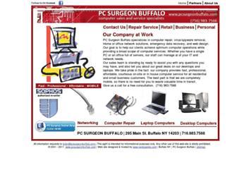 pcsurgeonbuffalo.com screenshot