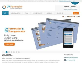 Thumbshot of Dw-formmailer.de