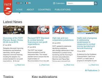Thumbshot of Fatf-gafi.org