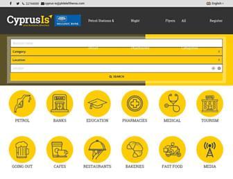 cyprus-is.com screenshot