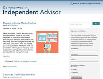 blog.commonwealth.com screenshot