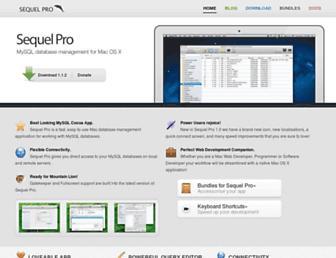 sequelpro.com screenshot