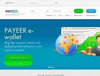 Thumbshot of Payeer.com