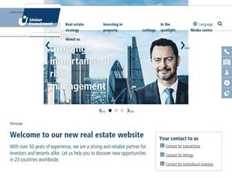 realestate.union-investment.com screenshot