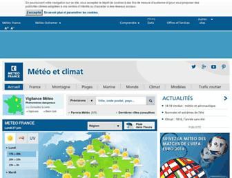 Thumbshot of Meteofrance.com