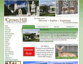 crownhillhf.org screenshot